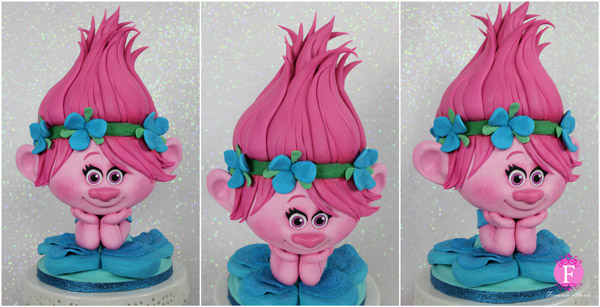 fondant Trolls baking tips