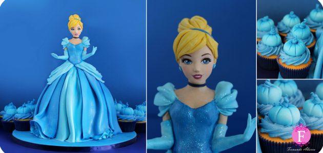fondant cake Disney