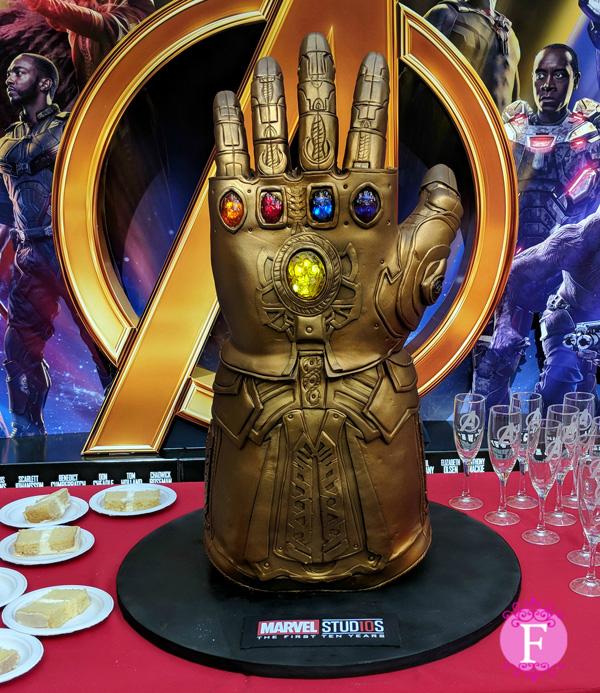 fondant cake Infinity War