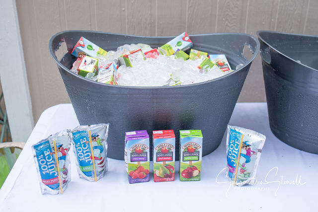 Kids Juice boxes for a party