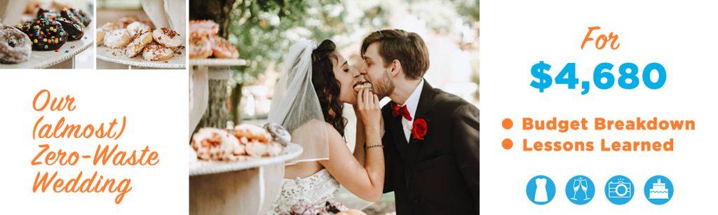 zero waste wedding blog image